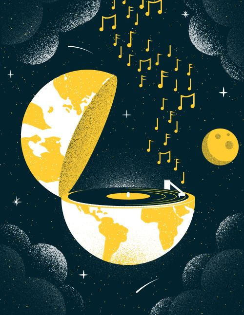 "Illustrated Science 136: World Record - Earlier this week John Boswell's ""A Glorious Dawn"" became the first record to be played in space. In a craft conceived and created by Jack White and his label Third Man Records the album was lifted into orbit..."