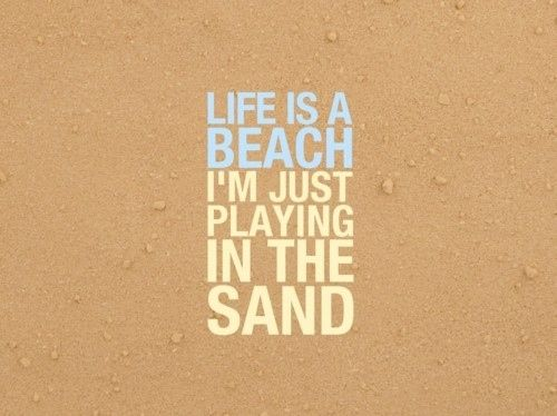 beach signs and sayings | beach, funny, life, quote, quotes, typography - inspiring picture on ...