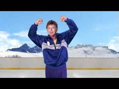 Chanson: Jouez au hockey par Jacquot (pas de paroles mais il y a des actions)