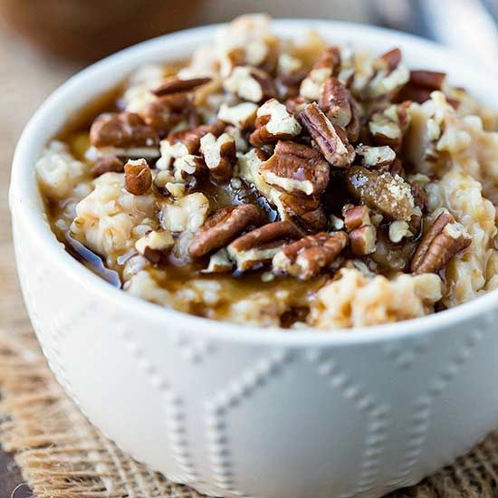 Maple brown sugar oatmeal is a classic!