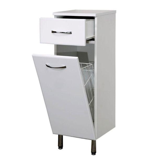Компактная тумба #Санта TH 30  для ванной комнаты с ящиком и бельевой корзиной!  #тумба, #тумбы, #тумб, #шкаф, #шкафы, #шкафов, #ванная, #ваннаякомната, #дляванной, #вванную, #мебель, #мебельдляванной, #ремонт, #обустройство, #сантехника, #сантехнику, #сантехники, #сантехнике, #скидки, #ванна.
