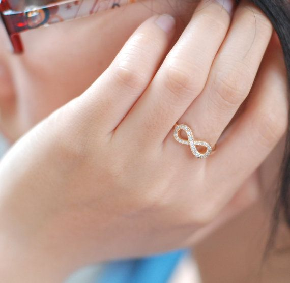 105 best Infinity Rings images on Pinterest Infinity rings