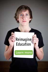 Reimagine Education - New Tech Network is a non-profit organization that helps high school students gain the knowledge and skills they need to succeed in life, college, and the careers of tomorrow. We work nationwide with schools, districts, and communities to provide services and support that enable schools to implement innovative high schools that promote deeper learning.