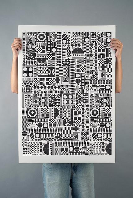 Geometía Imperfecta + Illustration | Raúl Gómez + Flickr