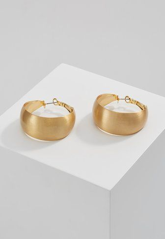 Rebecca Minkoff THICK AND THIN HOOP EARRINGS - Earrings - gold-coloured - Zalando.co.uk