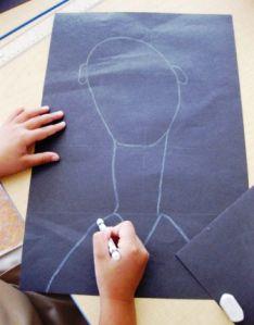Modigliani Self-Portraits in Grade Three | Alejandra Chavez