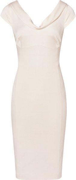 REISS ENGLAND   DUCHESS CATHERINE DRESS   Fitted V Neck Dress - Lyst