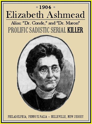 The serial killers in the history of mankind