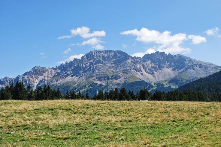 Dolomiti View - Dolomiti mountains, from Passo di Lavazè - Varena, Trento…