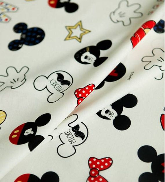 Check out this item in my Etsy shop https://www.etsy.com/listing/515131857/disney-mickey-mouse-character-fabric