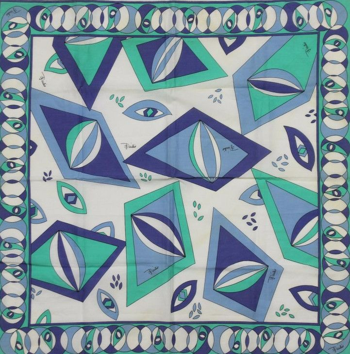 Emilio Pucci 'Abstract' Print Scarf                                                                                                                                                                                 More
