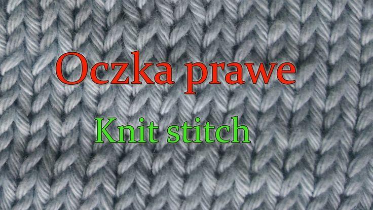 Jak robić oczka prawe na drutach?