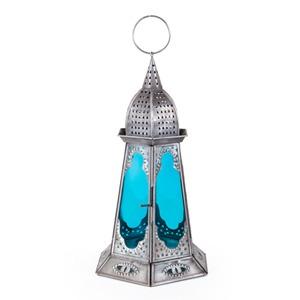 ALTINCI CADDE - Mavi Küçük Deniz Feneri 18 x 30 cm