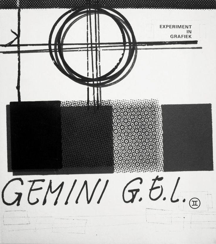 Gemini G.E.L. Experiment in Grafiek, Van Abbemuseum, Eindhoven 1971. Graphic works by Stella, Rauschenberg, Lichtenstein, Johns, Kelly, Hockney, Albers and others