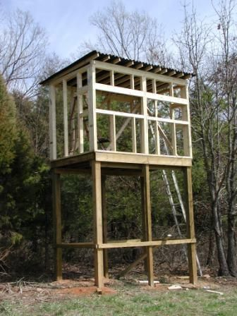 Elevated Deer Blind Picture