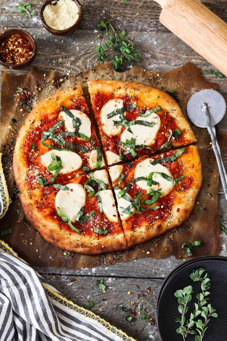 Easy Vegan Pizza Recipe In 2020 Vegan Pizza Recipe Vegetarian Pizza Recipe Vegan Pizza