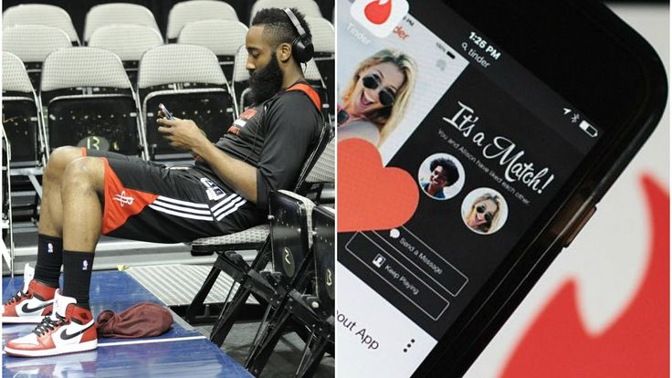 """#Tinder App Is Helping #NBA Players Get More """"Action"""" During Road Games"""