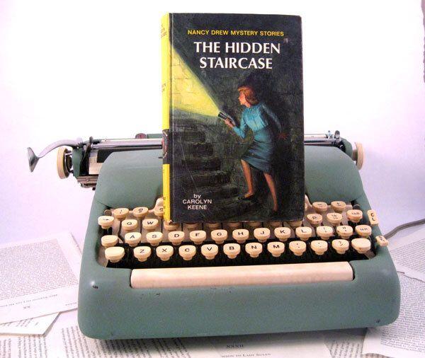 Kindle Cover or Nook Cover- Ereader Case made from a Book- Nancy Drew by chicklitdesigns on Etsy https://www.etsy.com/listing/98338145/kindle-cover-or-nook-cover-ereader-case