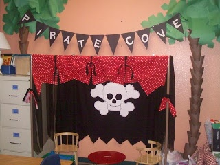 Clutter-Free Classroom: pirates