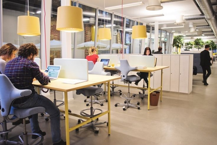 Capisco chair bringing style into the office! #InspireGreatWork #Scandinavian #design #office
