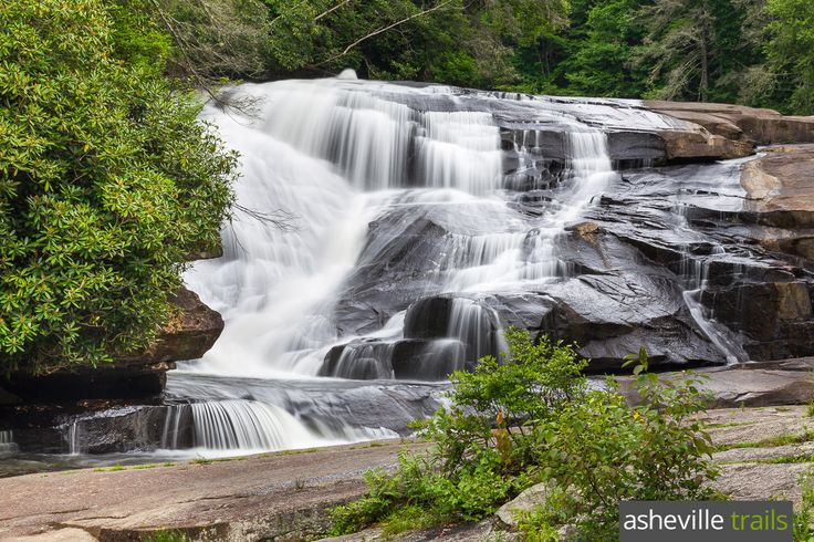Hike DuPont State Forest to Triple Falls, Hooker Falls and High Falls, three of North Carolina's most beautiful and popular waterfalls