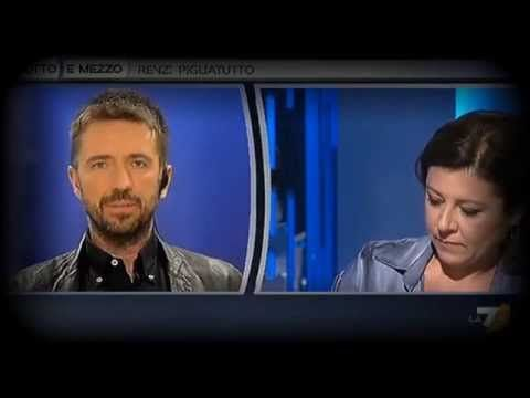 Andrea Scanzi e Amalia Signorelli v/s la De micheli e le critiche al Mov5stelle - YouTube