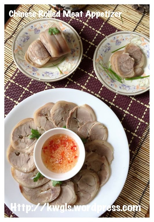Chinese Rolled Meat Appetizer (水晶扎蹄)#guaishushu #kenneth_goh   #水晶扎蹄