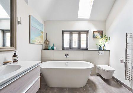 Border Oak Single Storey Bathroom