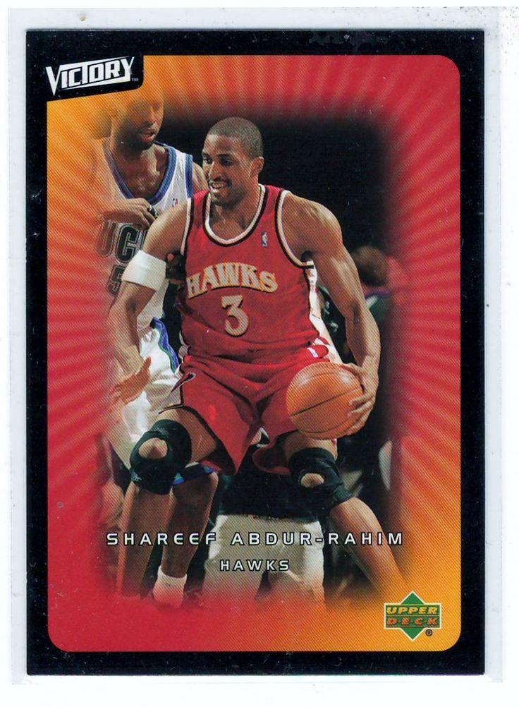 Sports Cards Basketball - 2003 UD Victory Shareef Abdur-Rahim