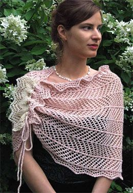 Ilga Leja Rosina PDF Download--This is gorgeous!  Uses 1000 yards of fingering weight for main colour and 60 yards of contrast.