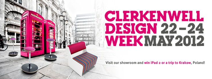 Our stand at Clerkenwell Design Week