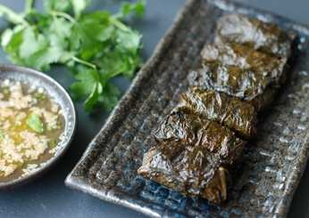 Grilled Beef Rolls with Nuoc Cham Dipping Sauce