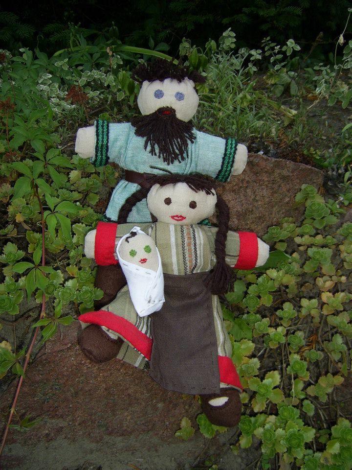 Piękne lalki dla małej wikinki.