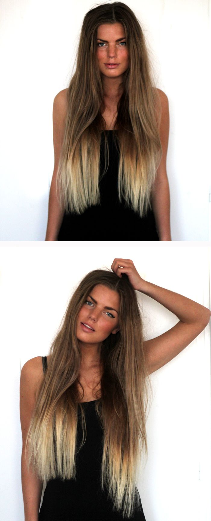 If I had long hair, I would deff do this!