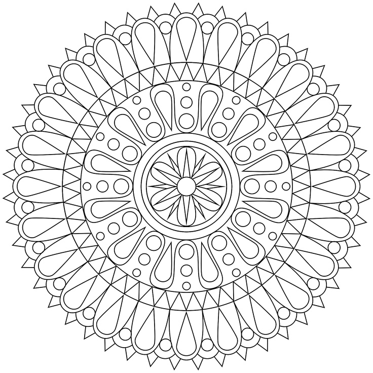 free adult coloring pages mandala printable one of the adult coloring pages mandala printable 2981 for your kids to print out and find similar of free - Art Therapy Coloring Pages Mandala
