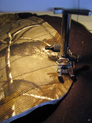 Camp Homeschool: How to Patch Insulated Carhartt Bib Overalls