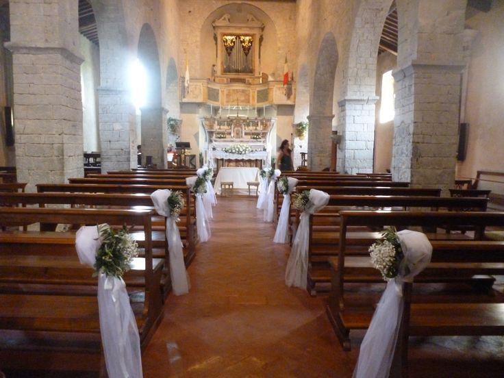 Pieve di Spaltenna - Castello di Meleto wedding