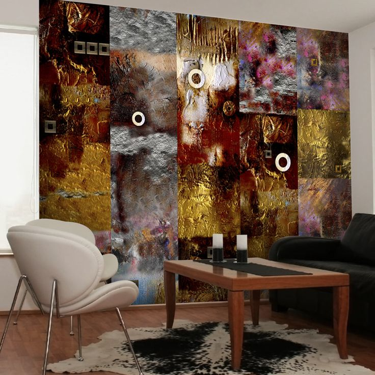 Tapeta - Painted Abstraction #style #home #wallart #inspirace #waterproof #cover #útulné #abstractart #colors