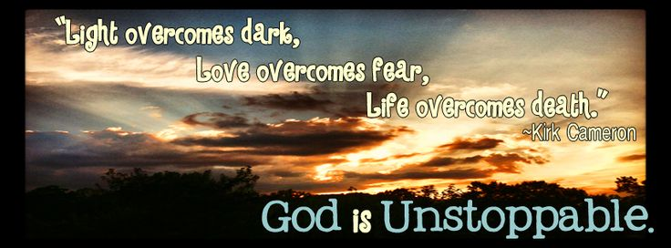 """Unstoppable"" by Kirk Cameron {...and a Facebook Friday Timeline Cover}"