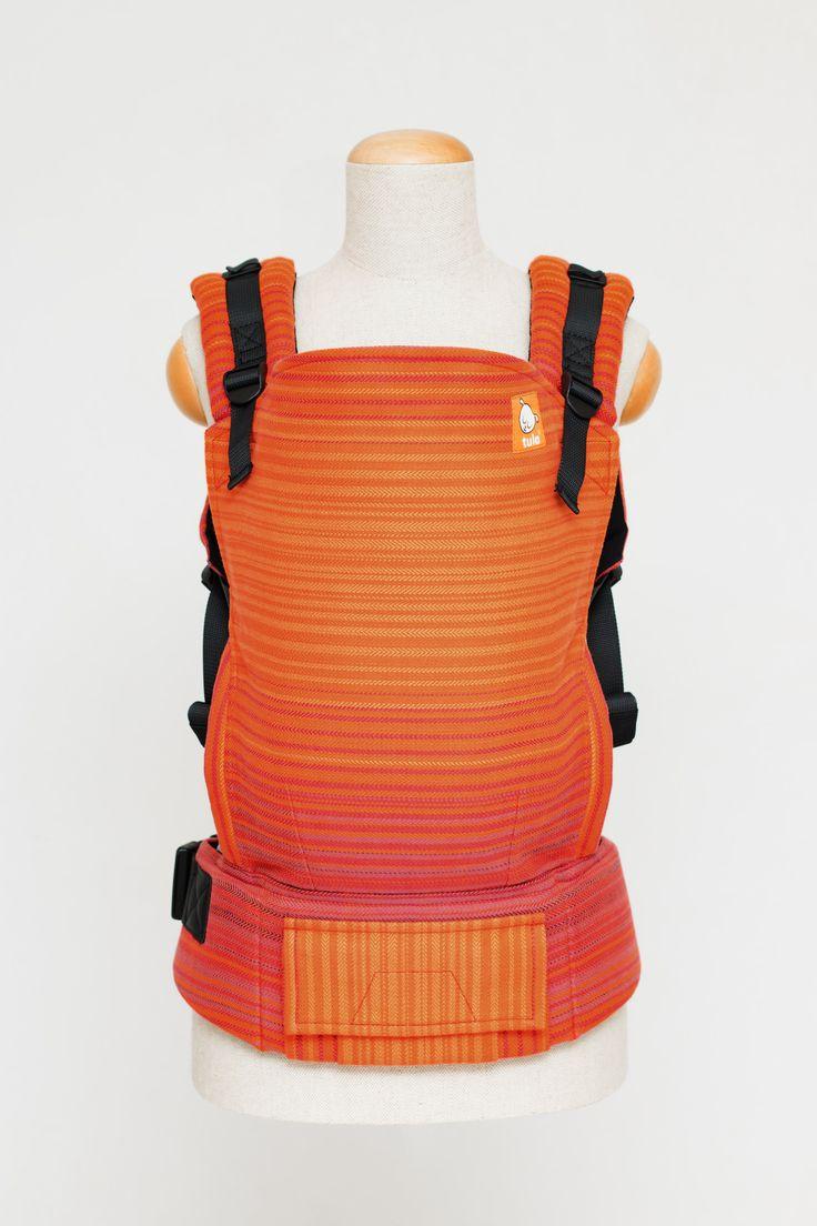 Half Toddler Wrap Conversion Carrier – Pucker Llama Weft Herringbone Weave – Wrap Conversion