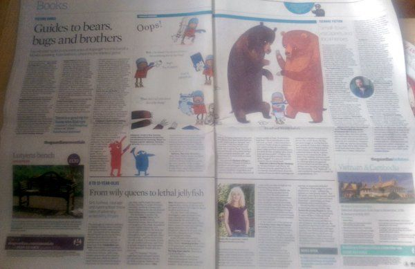 """Bloomsbury Kids UK on Twitter: """"Lots of our lovely titles in today's Observer! """""""