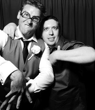 Fun photos at the reception for Conan and Rebecca.