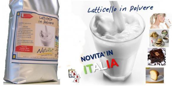 Latticello in Polvere - da bere e per ricette - 1 Kg (10 L)