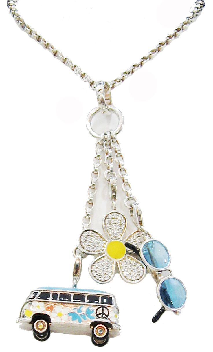 Charm Carrier with 3 Charms | Sterling Silver | Thomas Sabo Charm Club