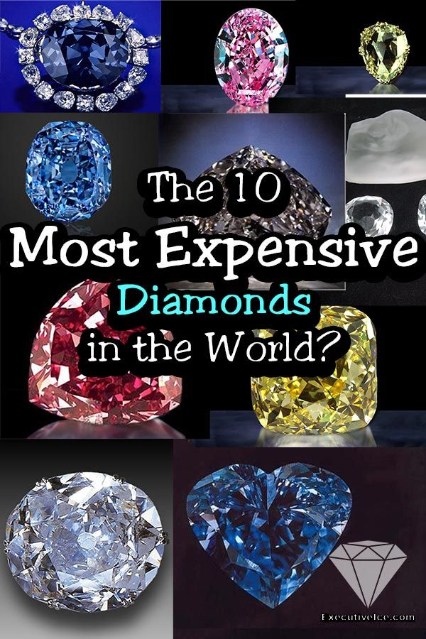 The Most Expensive Diamonds In The World Executiveice In 2020 Expensive Diamond Diamond Red Diamond