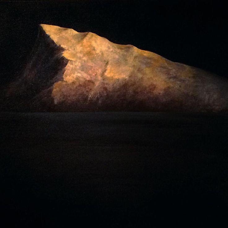 Igor Meyer. Oil on canvas. 50x50 cm. 2014.