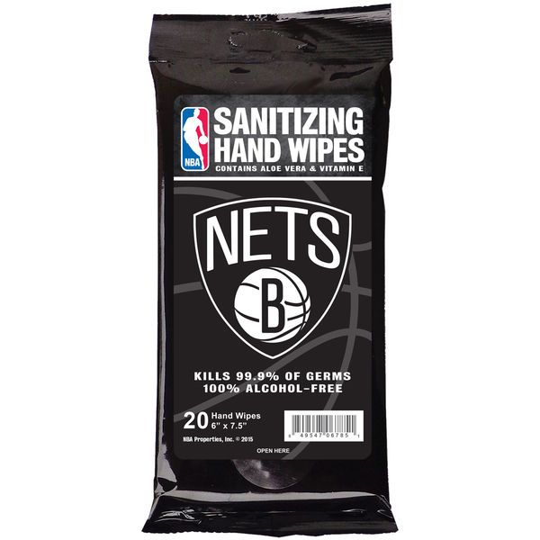 Brooklyn Nets Sanitizing Wipes, Price: $2.99