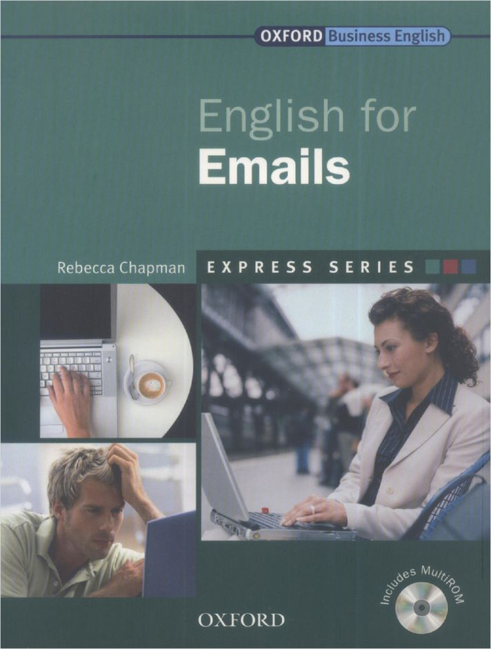 "Oxford e book ""English for Emails"" by Rebecca Chapman #businessenglish #email #writing @AntriParto"