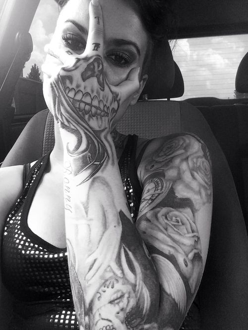 Tattoo #inked woman