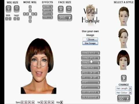 Virtual hairstyles, see what hairstyle suits you! Fun!